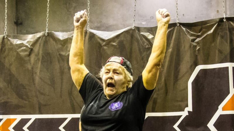 The 77-year-old cancer survivor powerlifting her way to health