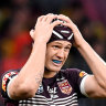 Maroons blow as Ponga as Knights say star will miss two weeks with injury