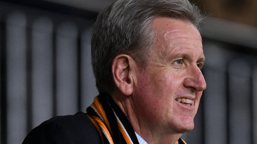 Wests Tigers chairman and Racing Australia chief Barry O'Farrell.