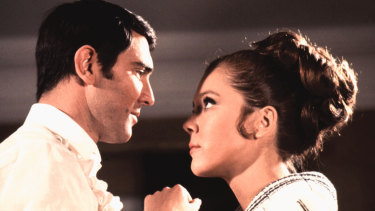 On Her Majesty's Secret Service was Lazenby's first acting role.