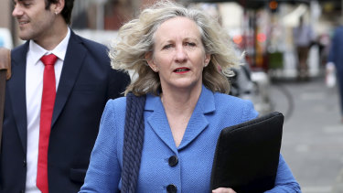Defence lawyer Genevieve Cleary.