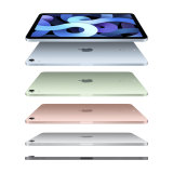 The new iPad Air comes in a range of colours.