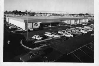 The $ 1.3-million Target store at Mt. Gambier in 1973.