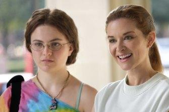 Chiara Aurelia and Olivia Holt in Cruel Summer.