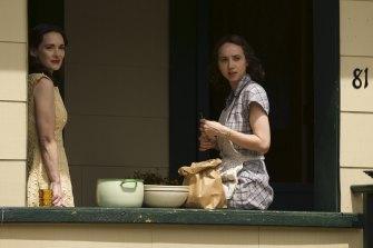 Winona Ryder and Zoe Kazan in The Plot Against America.