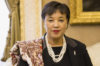 Commonwealth Secretary-General Patricia Scotland has been asked to reveal her future plans.