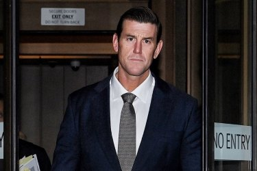 'An intense moment': Ben Roberts-Smith breaks down while giving evidence