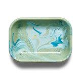 Bornn's marbled pastel enamel baking dish ($45)