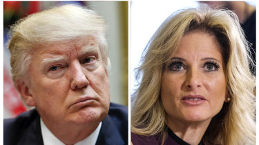 US President Donald Trump has been trying to block a defamation suit brought against him by Summer Zervos.