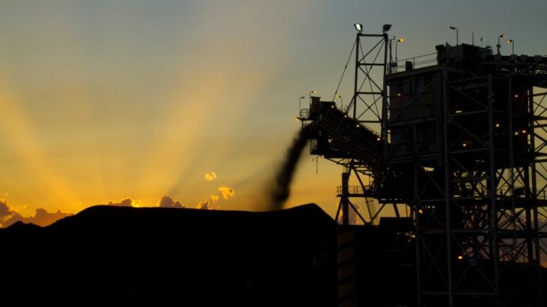 The sun is setting on coal.