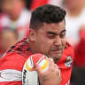 Tonga or NSW? Fifita to make call on eligibility on Origin eve