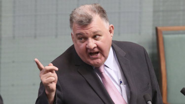 Craig Kelly is unapologetic about sharing what has been labelled health misinformation.