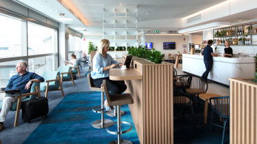 Qantas's new international lounge opened at Brisbane Airport in April 2019.