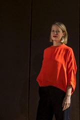 ACCA's senior curator Annika Kristensen