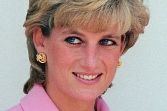 Princess Diana in 1995, a few days after her interview with Martin Bashir aired on the BBC program Panorama.