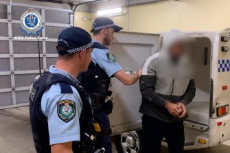 A man is arrested after former cricketer Stuart MacGill was allegedly kidnapped from Sydney's lower north shore.