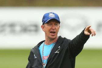 North Melbourne coach David Noble.
