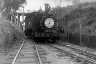 Puffing Billy in 1952.