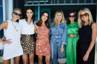 It girls: Nadia Fairfax, Olivia Bond, Kristin Fisher, Kate Bond, Jordana Sexton and Montarna Pitt.