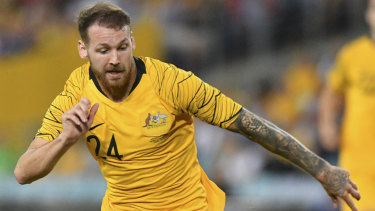 Missing piece: Martin Boyle was a huge part of Graham Arnold's Asian Cup plans.