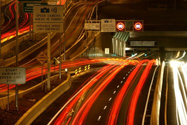 Traffic on Transurban's toll roads dropped by almost 30 per cent in the last week of March.