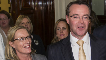 'New day for the party': Vic Liberals pick Michael O'Brien as leader