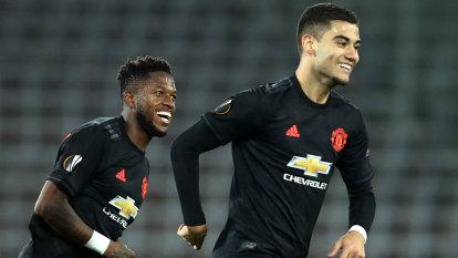 Manchester United thrash LASK in Europa League