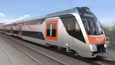 The first of the new intercity trains is unlikely to arrive from Korea until November or December.