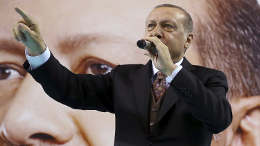 Turkish President Tayyip Erdogan said elections will be held on June 24, more than a year earlier than planned.