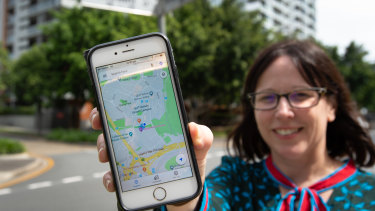 QUT Associate Professor Peta Mitchell wants to find out how comfortable we are with our location data being used by app companies.