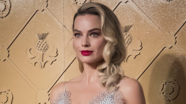 Margot Robbie at the premiere of Mary Queen of Scots in London in December.