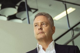 Greg Goodman, Goodman Group CEO at the company's head office in Sydney.
