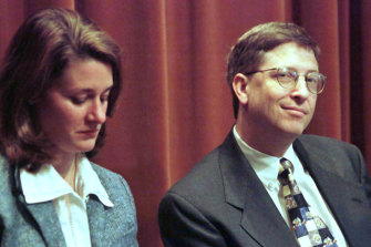 Melinda and Bill Gates announce the launch of their joint foundation in 1998, then worth $US17.1 billion.