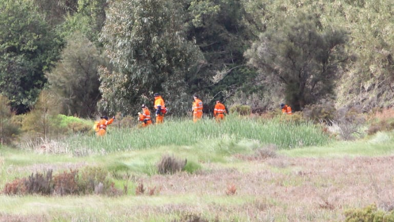 SES volunteers joined the search for the fifth boy, who has since been found safe.