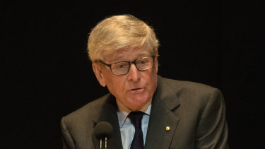Former Chief Justice of the High Court Murray Gleeson.