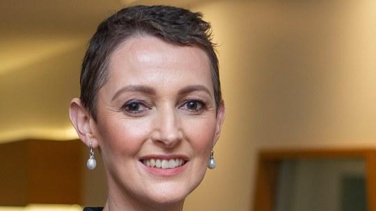 Telstra CFO Vicki Brady, speaking at the Financial Review CFO Live summit 2021