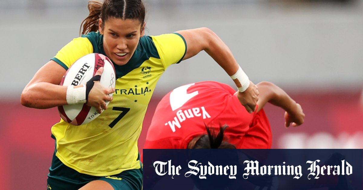Flying colours: Aussie women's sevens team make thumping Olympic return