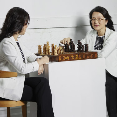 """Keen chess player Gladys Liu: """"I have a lot of people who look up to me and believe inme."""""""