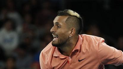 'Heartbroken for Demon': Kyrgios dedicates first round win to de Minaur