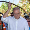 Six months on, Morrison reassures north Queensland on flood relief