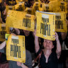 'Let the world know they are liars:' Hong Kong protesters defy Beijing's threat