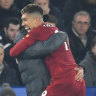 Firmino rampages as Liverpool crush Leicester to go 13 points clear