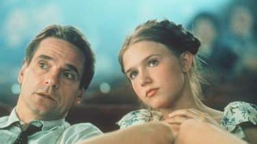The 1997 version of Lolita, starring Jeremy Irons and Dominique Swain, took up the time of the Howard cabinet in 1999.