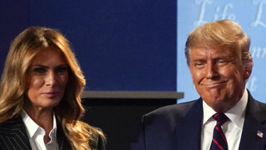 US first lady Melania Trump and President Donald Trump have contracted coronavirus.