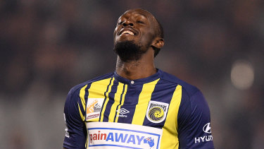 Unlikely: It seems a number of issues still need to be resolved before Usain Bolt officially joins the Mariners.