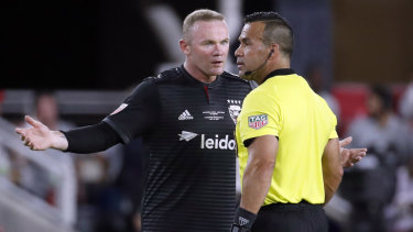 Rooney now captains DC United.