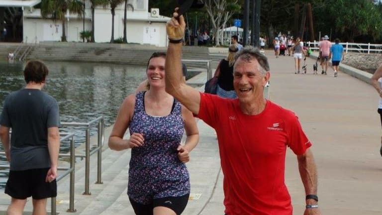 Rower Mark Roome went missing on the Brisbane River on Wednesday.