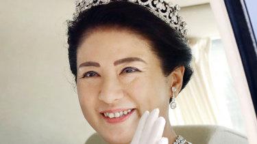 Japan's new Empress Masako.