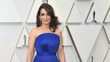 Tina Fey at this year's Oscars.