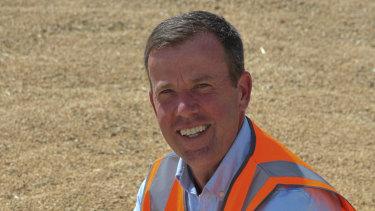 Tehan in his electorate of Hamilton in regional Victoria this week.